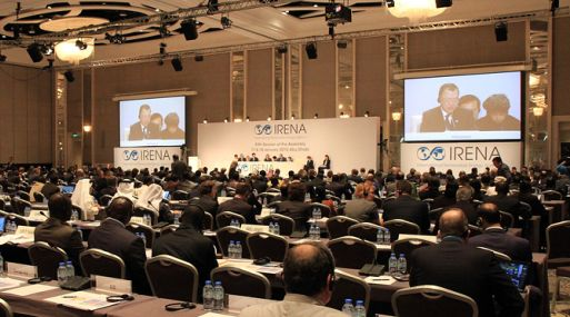La Asamblea del IRENA reúne a los artífices del acuerdo del clima de París