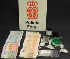 Detenido un vecino de Beriáin por tráfico de drogas
