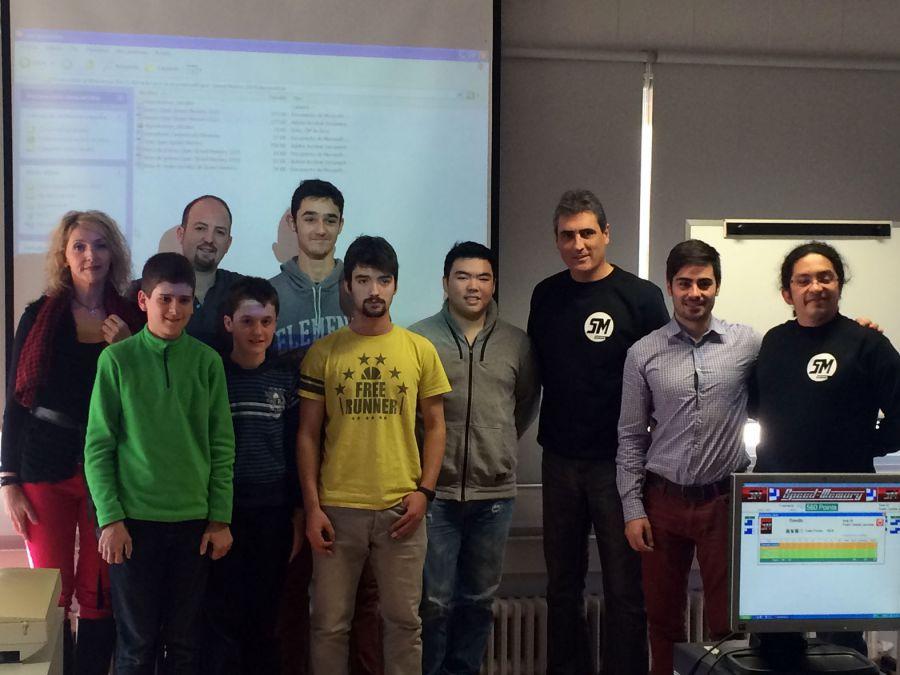 Un total de 14 jóvenes participaron en el campeonato Open Speed Memory 2015