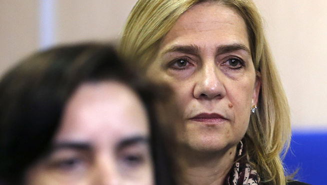 El tribunal resolverá antes del 9 de febrero si aplica la 'doctrina Botín' a la Infanta