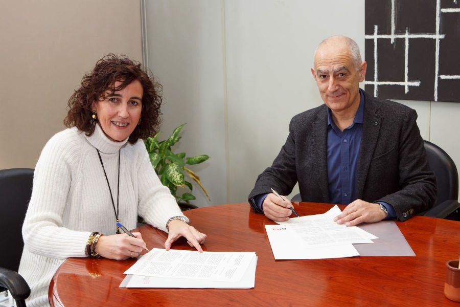 La UPNA y el Consejo Escolar de Navarra firman un convenio colaboración