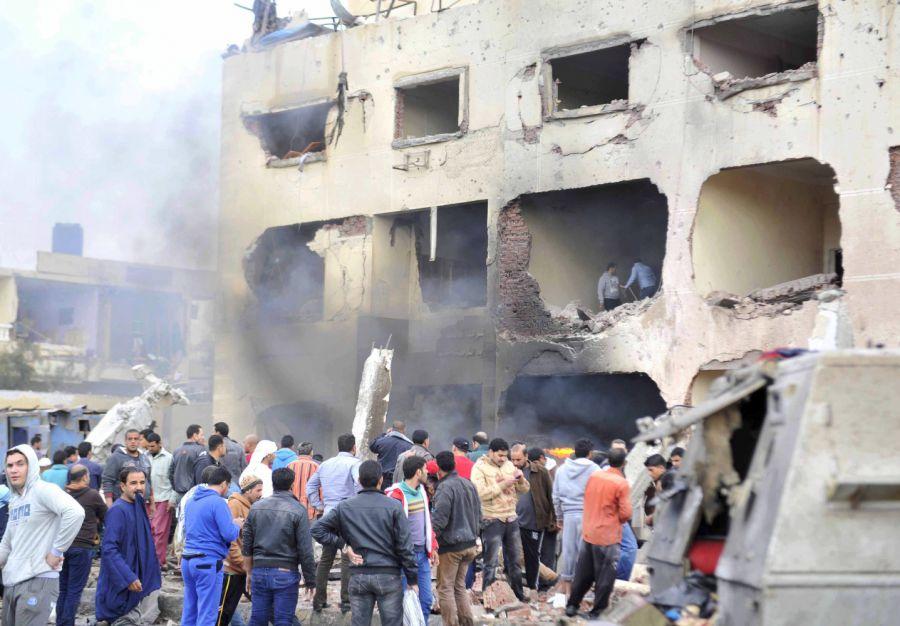 Cinco policías egipcios muertos en un ataque terrorista en el Sinaí