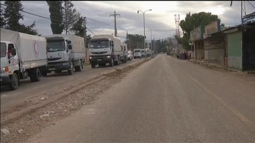 Siete ONGs internacionales advierten un convoy humanitario no es suficiente para erradicar la hambruna en Siria