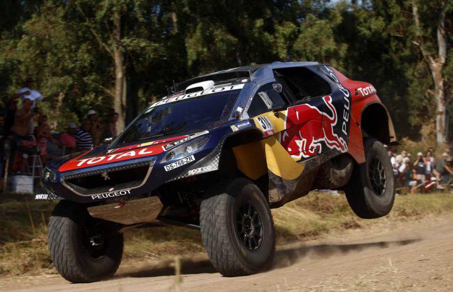 Dakar 2016, coches: Loeb sigue intratable y suma un nuevo triunfo de etapa ante la incredulidad de los Mini