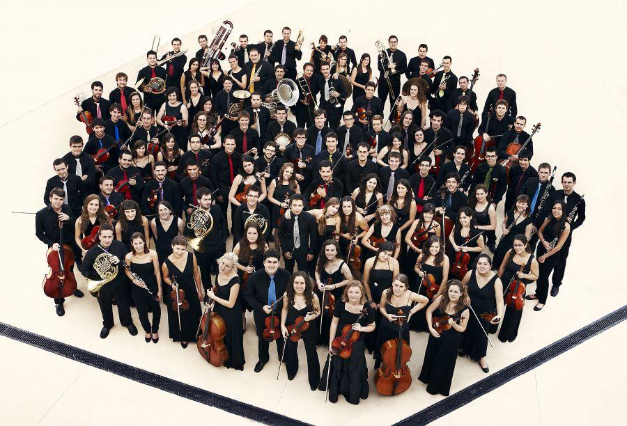 Baluarte acoge el primer encuentro de la Joven Orquesta Nacional de España de 2016