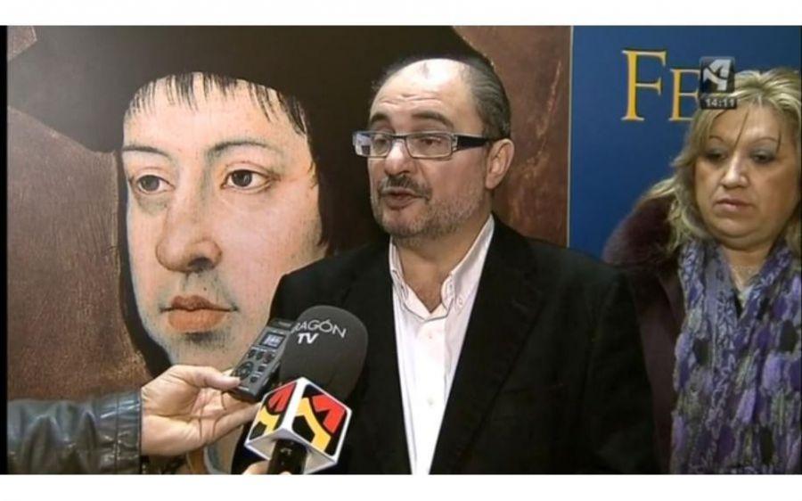 Lambán, «pesimista» ante un pacto con Podemos