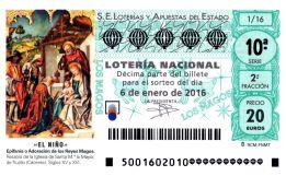 """""""El Niño"""" pone el broche final a la Navidad repartiendo 630 millones de euros"""