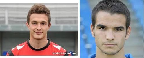 Marcellán y Arrieta de la Real Sociedad, cedidos a la Peña Sport
