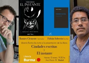 Los libros 'Ciudades Escritas' y 'El Instante', presentados en Madrid