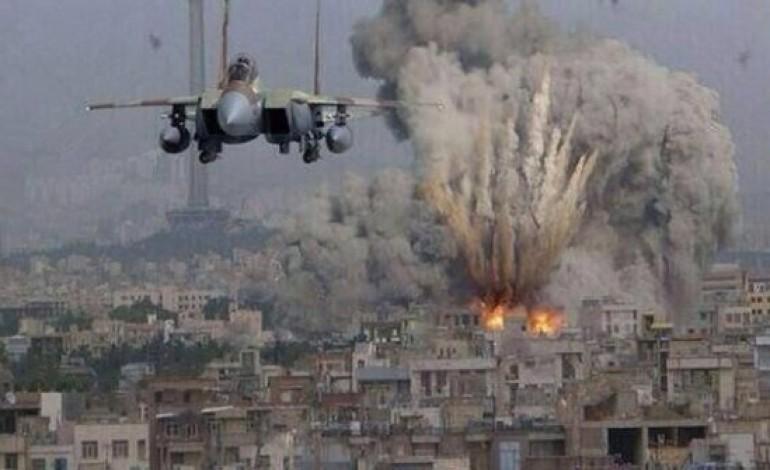 Israel bombardea Gaza en represalia por el lanzamiento de cohetes