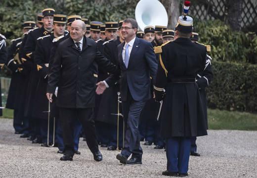 Reunión de los responsables de Defensa de 7 países de la coalición contra el Estado Islámico