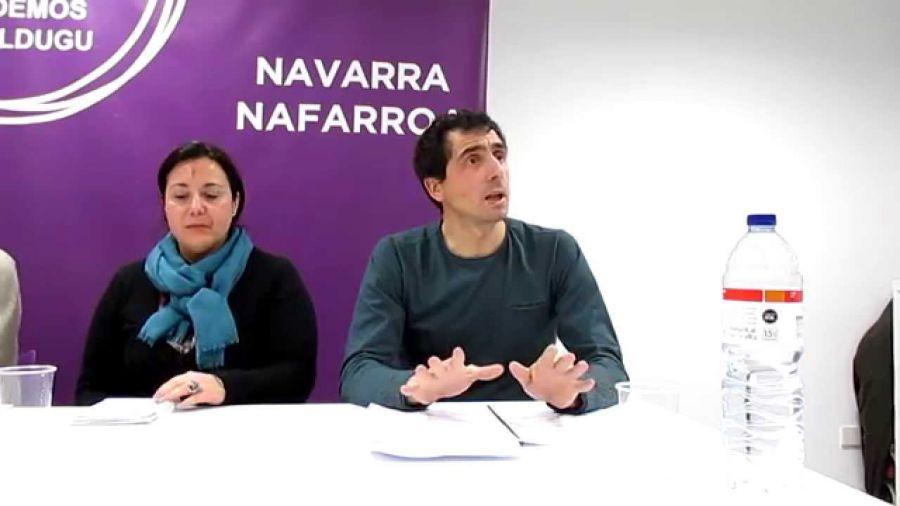 Rubén Velasco tomará posesión este jueves como parlamentario de Podemos en sustitución de Eduardo Santos