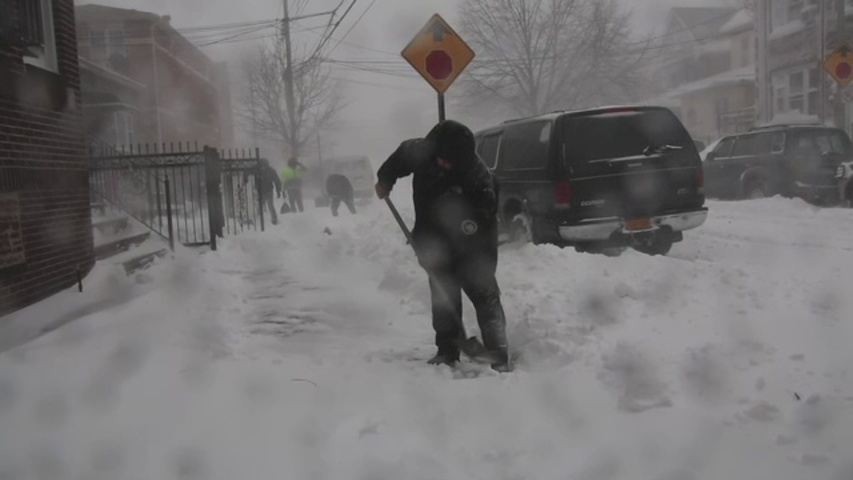 Estado de emergencia en la ciudad de Nueva York y otras zonas del estado por la tormenta