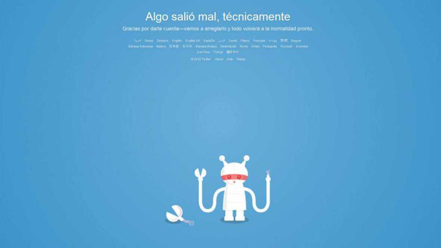"""Twitter sufre diferentes """"caídas"""" a lo largo del día"""