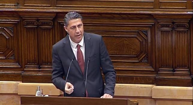 Albiol, a Puigdemont: «Ni usted ni nadie iniciará ningún proceso de ruptura»