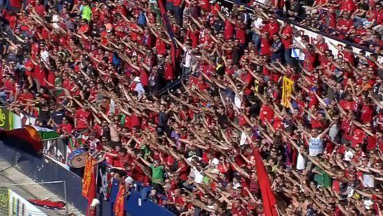 Osasuna pone a disposición de sus socios 250 entradas para Huesca