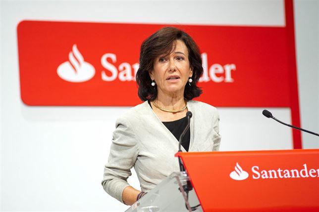 Santander gana 3.752 millones de euros en el primer semestre, el 4 % más