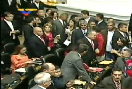 La oposición venezolana toma el control de la Asamblea Nacional