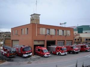 Una mujer y su hijo trasladados al hospital de Tudela por inhalación de humo