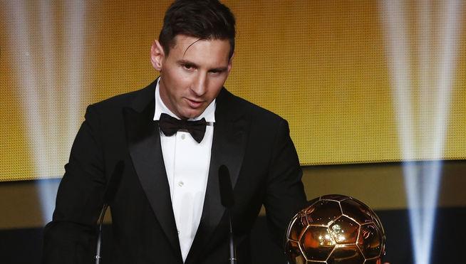 Messi logra su 5º Balón de Oro
