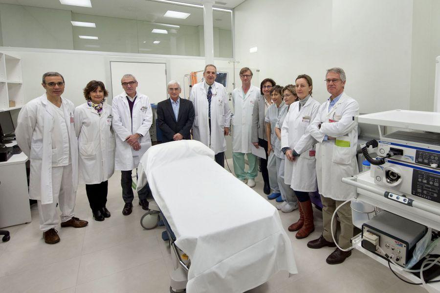 Inician su actividad las nuevas instalaciones para endoscopias en el Pabellón C del CHN