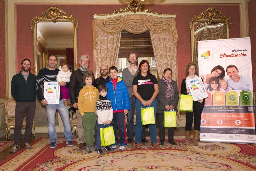 Entregados los premios del sorteo 'Eco-Families', dentro del proyecto europeo FIESTA