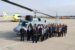 La UTE SENER-INAER entrega a la Armada el primer helicóptero del Programa de Extensión de Vida del AB212