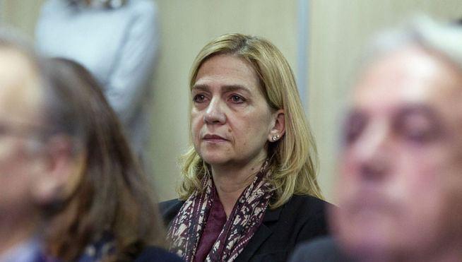 La infanta Cristina seguirá en el banquillo y será juzgada por dos delitos fiscales