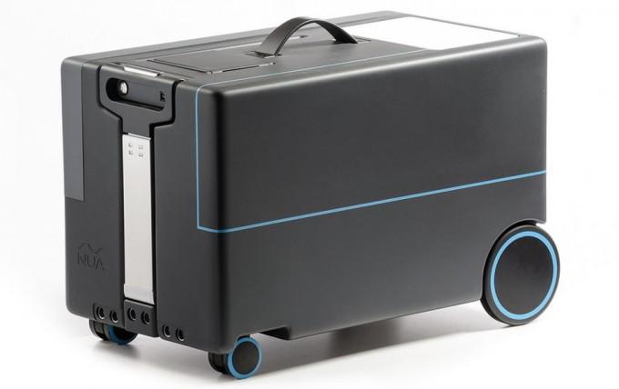 La maleta del futuro escaneará a su dueño y le seguirá