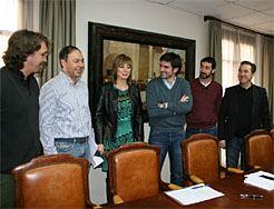 Gobierno Foral y Ayuntamiento de Tudela inician la retirada de símbolos franquistas