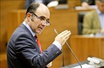Ayerdi dice que al Gobierno central no le interesa un convenio sobre el TAV