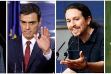 El PP y C's compiten por el voto moderado mientras el PSOE ataca a Podemos