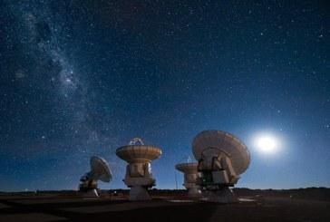 El telescopio ALMA mejora su capacidad para detectar agua en el universo
