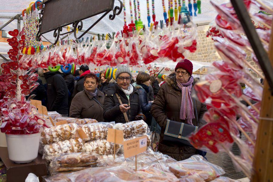Este domingo, día de San Blas, volverán los dulces y la soka-dantza al entorno de la plaza de San Nicolás