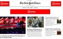 The New York Times gana tres premios Pulitzer