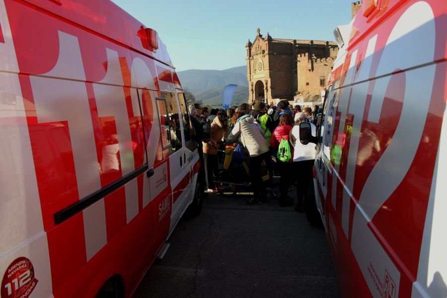 Cruz Roja hace balance de la segunda Javierada 2016 con 254 atenciones