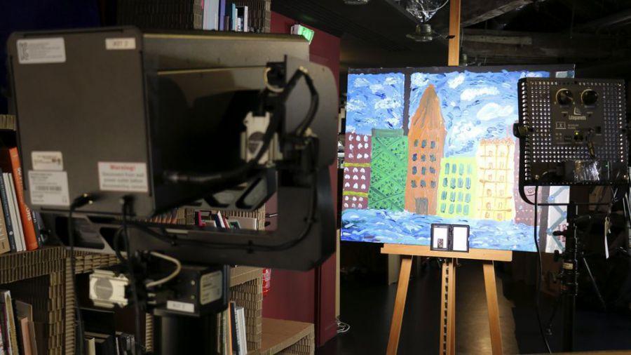 Google presenta una nueva cámara de súper alta resolución para digitalizar la historia del arte