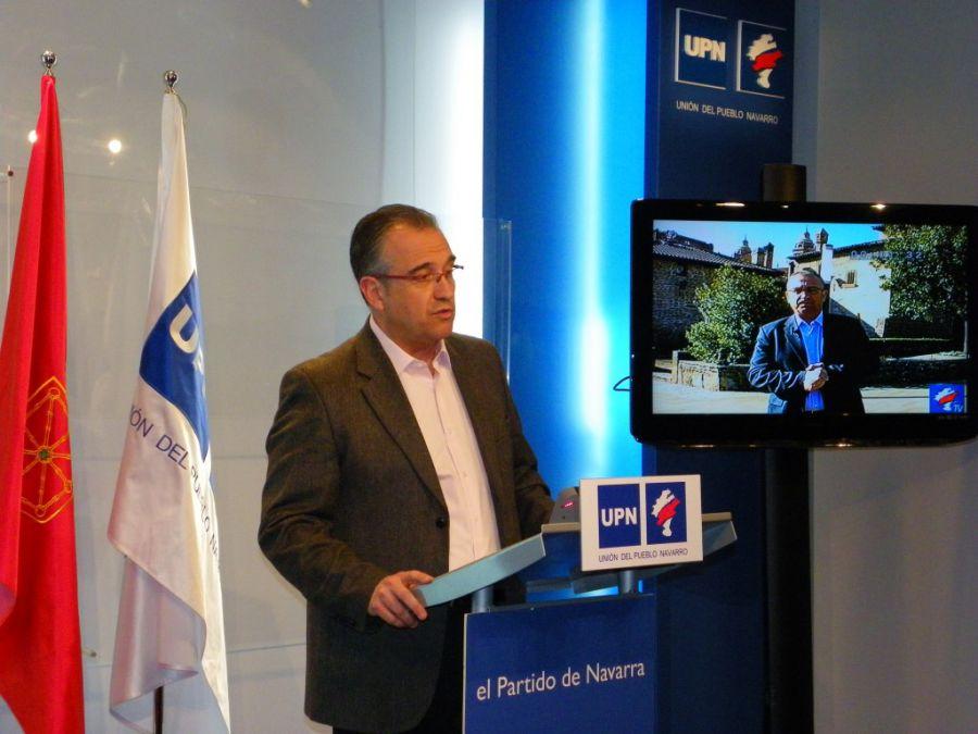 """Maya (UPN): """"Exijo a Joseba Asirón que pida disculpas públicas por su comportamiento"""""""