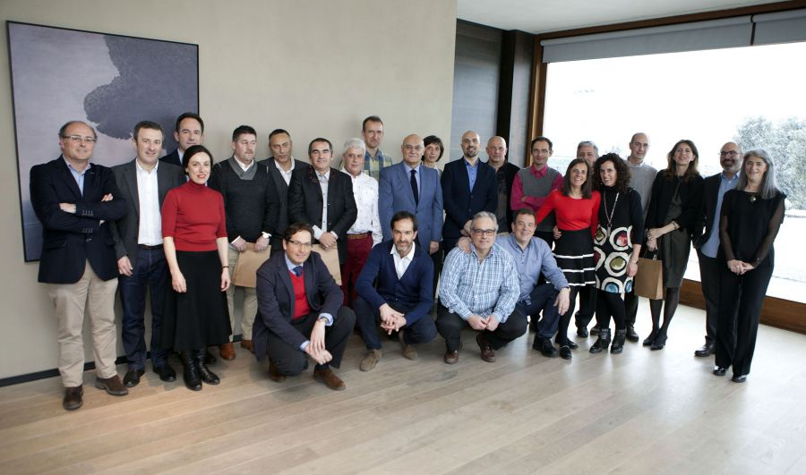 COAVN Navarra homenajea a los 40 arquitectos que han cumplido 25 años en la profesión