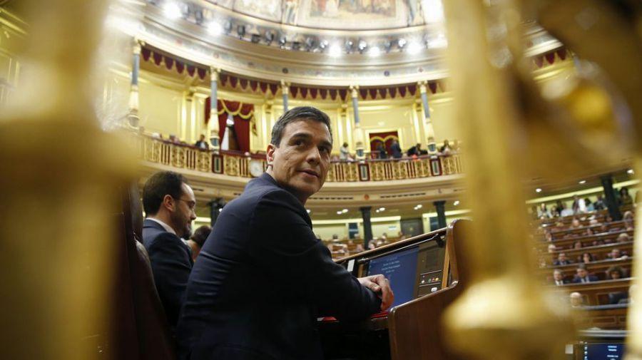 Sánchez se enfrenta hoy sin opciones a la segunda votación de investidura
