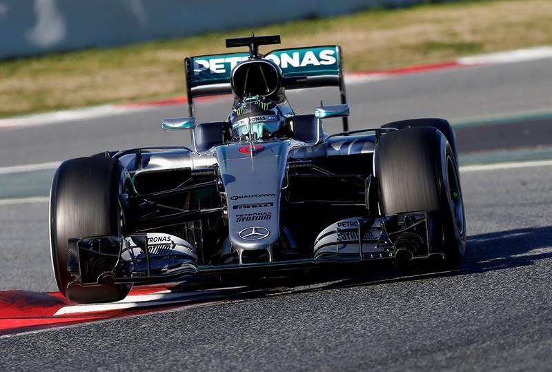 Mercedes rueda casi dos segundos más rápido que su inmediato perseguidor