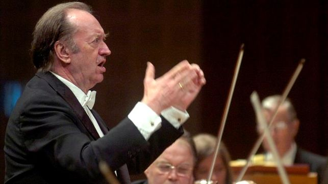 Muere el director de orquesta Nikolaus Harnoncourt