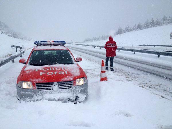 La Policía Foral atiende en las últimas horas seis salidas de vía