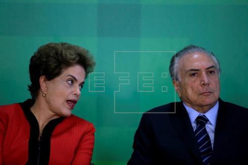 El mayor partido de Brasil decide mañana si abandona al Gobierno de Rousseff