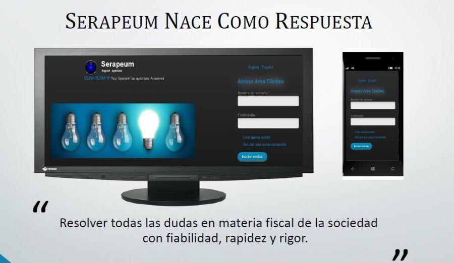 Serapeum, un revolucionario Asesor Fiscal Online