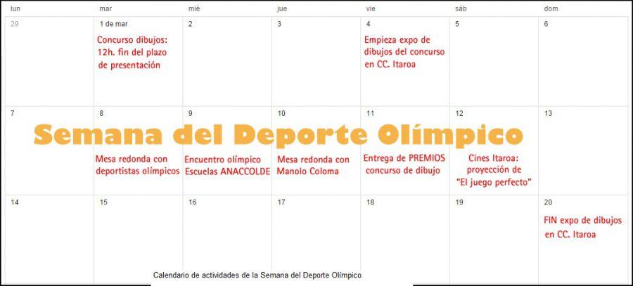 El Centro de Estudios Olímpicos de la Universidad de Navarra celebra la IV Semana del Deporte Olímpico