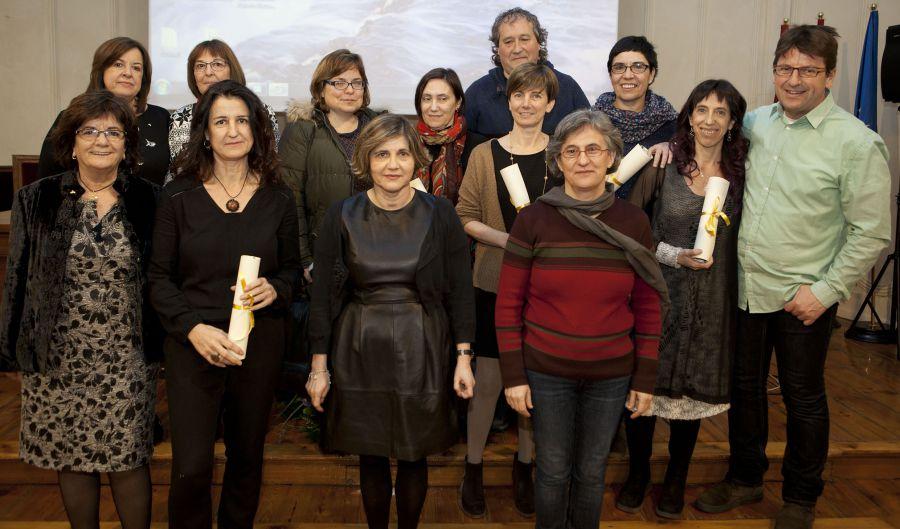 El Colegio de Psicología de Navarra rinde homenaje a los 18 psicólogos que han cumplido 25 años de colegiación
