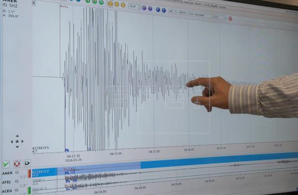 Un nuevo terremoto sacude Málaga y Melilla