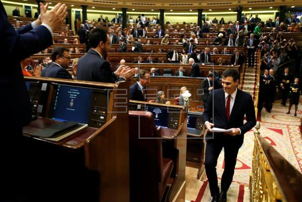 """Sánchez recibirá hoy el """"no"""" mayoritario del Congreso a su investidura"""