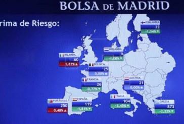 La prima de riesgo española abre estable, en 98 puntos básicos